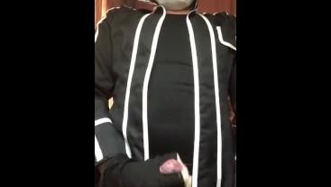 Kirito SAO cosplay masturbation