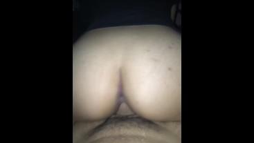 Asian alut riding my cock