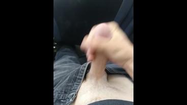 Masturbating on public bus