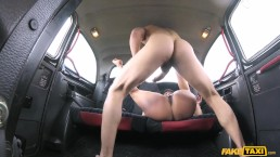Fake Taxi - Saucy Hot Brunette Loves Czech Cock