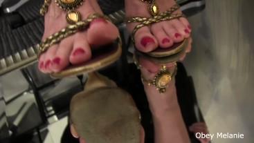Foot Fetish Elegance