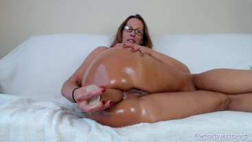 Jess Ryan Easy A Sexy Anal With Big Brown Cock