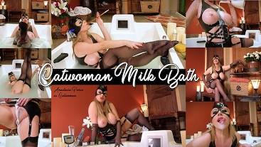 Catwoman Creamy Bath