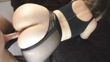 In pantyhose ass big Plus Size