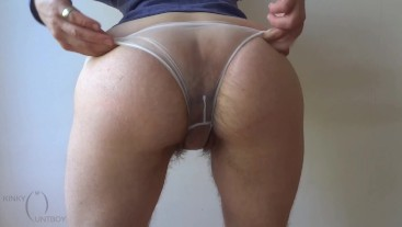 Hairy Panties Pussy Pic