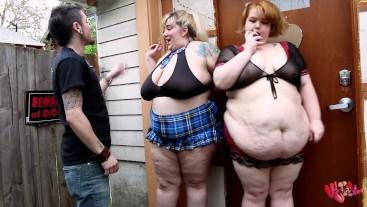 BBW school girls CAUGHT SMOKING