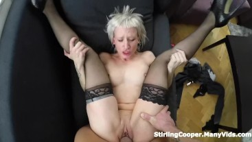 Punk Emo Slut Can't Get Enough of His Cock