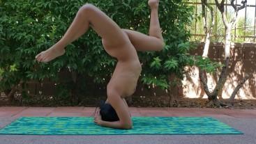 Naked Yoga and Masturbation