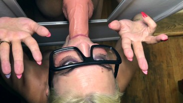 getting sloppy on your cock