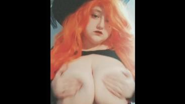 Snapchat Slut with Huge Natural Tits