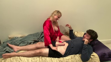 Stepmom is horny when dad is not around