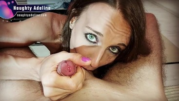Sucking and rimming you - Best sloppy blowjob with cum in mouth POV - PROMO
