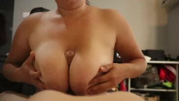 tityfuck , suck nippels, cowgirlfuck, cum on big boobs