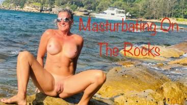 Masturbating On The Rocks (Real Teachers)