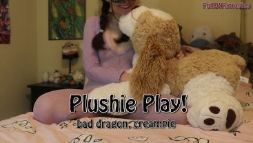 Plushie Play! (creampie, bad dragon) (full)