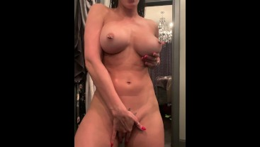 Rachel Starr Plays with Big Tits and Bounces Ass