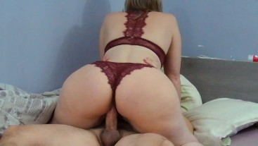 fat ass ebony rides white dick