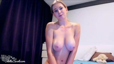 Oil Tits Girl Masturbates Pussy Presenting Hot Sex
