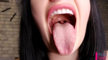 Cum with Me everyday During 1 Month! Day 13 - Mouth fetish
