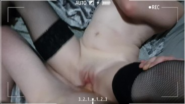 Friday night fuck fun with the girlfriend and cumshot