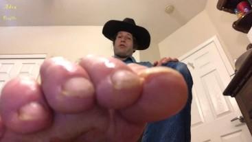 Cowboy Pee On Feet Gay Worship POV