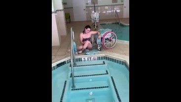 Sexy Paraplegic Swimsuit