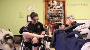 Paraplegic Leg brace
