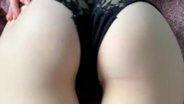 Fucked sister in black panties