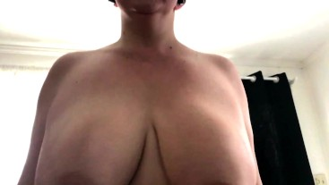Slow motion bouncing titties