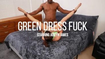 Green Dress fuck with Joslyn James