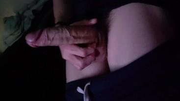 Cute Teen Virgin Jerking his Big Pink Cock
