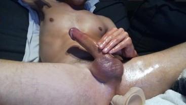 Cum close for pleasure