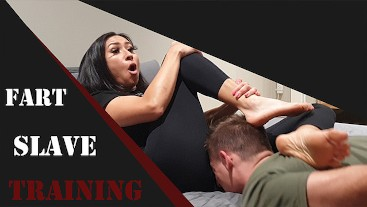 Fart Slave Training