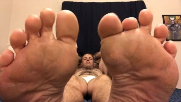 Sexy Stud Feet Fetish & Toes Wiggling JOI