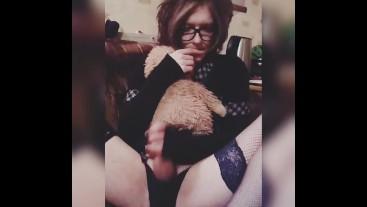 Cute Trap Masturbation Big Dick Hattabi4ik