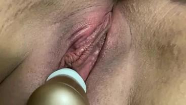 Intense Quick orgasm from Clit sucking vibrator