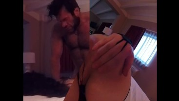 Hardcore amateur action, COSPLAY NINJA AND WOLVERINE! ROUGH ANAL INCLUDED!!