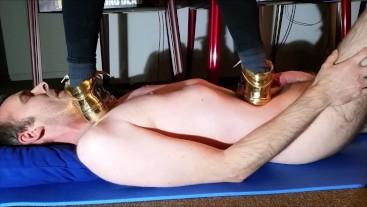 Trampling under Golden Sneaker
