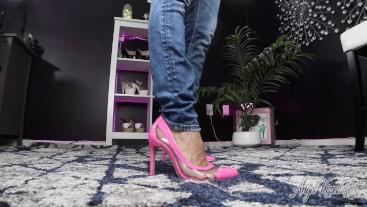 Showing Off My New Heels - Nikki Ashton