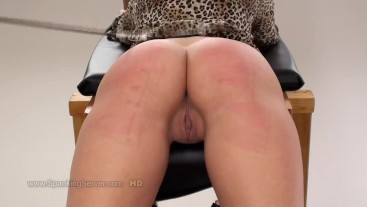 Ines's ass whipping 1809