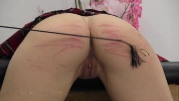 Sasha's ass whipping 2109