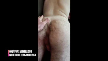 PLAYING WITH A HAIRY ASS