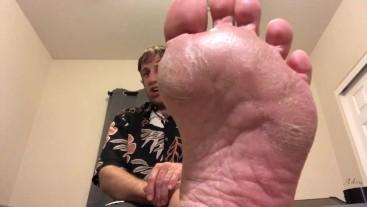 JOI: Like Pix Of My Feet, Friend? Lick & Worship Them