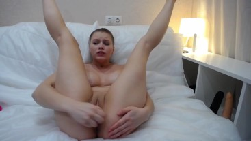 getting orgasms from dildo and fingers
