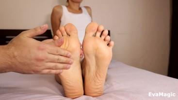 SOFT FEET MASSAGE VERY CUTE SOLES