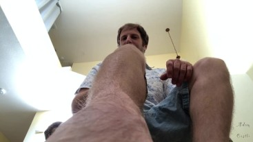 POV: Shut Your Mouth Or I'll Fuck It With My Feet