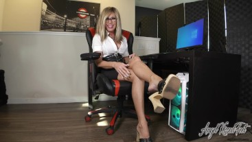 Playtime With Boss Feet - Nikki Ashton