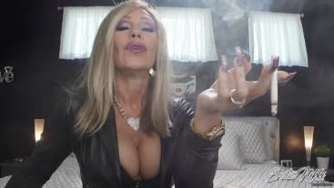 Required To Smoke With Me - Smoking Encouragement - Nikki Ashton