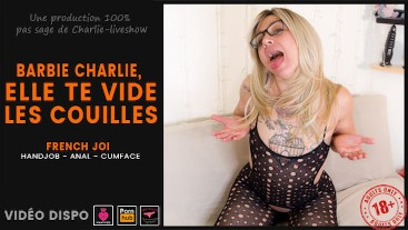 Charlie Doll empties your balls