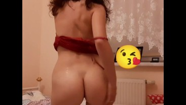 Young bitch screams and takes a load while anal fucking